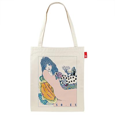 雑誌『装苑』80周年記念 装苑×宇野亞喜良先生×ROOTOTEの特別なトートバッグ