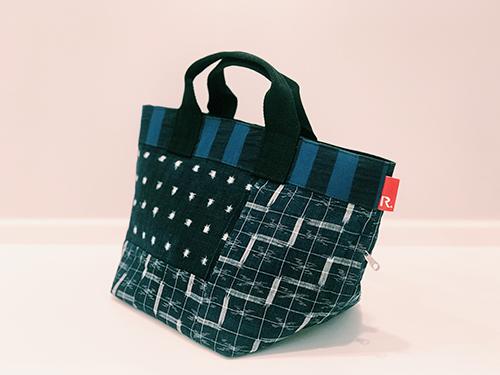 Collaboration:Matsuyama Design Week 2018 にて廣川玉枝(SOMADESIGN)×ROOTOTEコラボバッグを展示