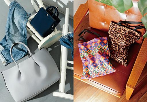この秋のitバッグは、「手も眼も釘付けにするトート」。ビーチへ。フェスへ。この夏を思いきり楽しむためのマストハブも。
