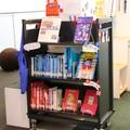 「本とトートでつながルー プロジェクト」第1弾:太田市美術館・図書館に企画コーナー「ルートート あなたはどっち派?赤or青」