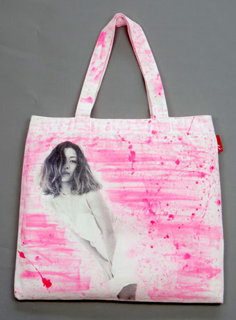 paint in pink color