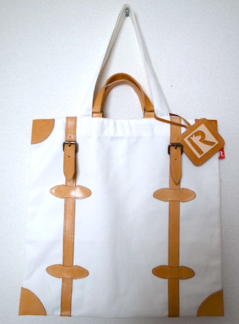Leather Trunk Tote -日常を旅に変えるトートバッグ-