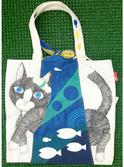 『未だ見ない世界を君といっしょに』~Wrap the Cat Tote~